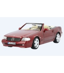 Mercedes 500 SL (R129), Metallic-dark red 1998