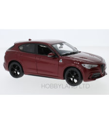 Alfa Romeo Stelvio, dark red