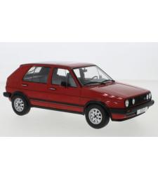 VW Golf II GTD, red, 5-trg., 1984