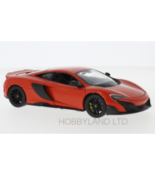 McLaren 675LT, light red