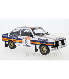 Ford Escort MKII RS 1800, No.8, Rothmans, Rallye WM, Rally San Remo, H.Mikkola/A.Hertz, 1980
