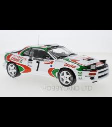 Toyota Celica GT-Four (ST185), No.7, Castrol, Rallye WM, Rallye Monte Carlo J.Kankkunen/J.Pironen