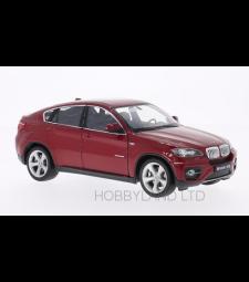 BMW X6, dark red