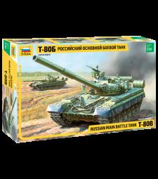 1:35 Руски танк Т-80Б МБТ (T-80 B RUSSIAN MBT)