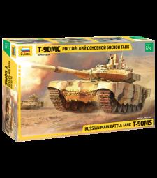1:35 Руски танк Т-90 МЦ МТБ (T-90 MS RUSSIAN MBT)