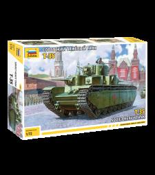 1:72 Съветски тежък танк Т-35