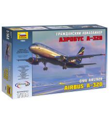 1:144 Пътнически самолет Еърбъс А-320 (Airbus A-320)