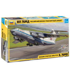 1:144 Съветски военнотранспортен самолет Илюшин Ил-76 МД (ILYUSHIN IL-76 MD)