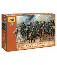 1:72 Черни хусари на Фредерик II (Black Hussars of Frederick II) - 19 фигури