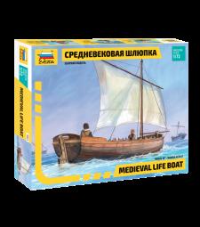1:72 Средновековна спасителна лодка (MEDIEVAL LIFE BOAT)
