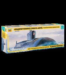 "1:350 Руска атомна подводница ""Владимир Мономах"" проект Борей (SSBN ""BOREY"" NUC.SUBMARINE ""Vladimir Monomakh"")"