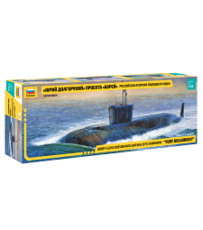 "1:350 Руска ядрена подводница ""Юрий Долгорукий"" (NUC.SUBMARINE ""YURI DOLGORUKIJ"")"