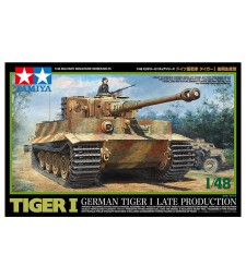1:48 Германски тежък танк Tiger I, късно производство