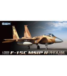 1:72 Военен самолет F-15C MSIP II USAF & ANG