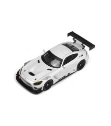 Mercedes AMG GT3, White Race Version, 2017
