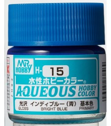 H-015 Gloss Bright Blue (10ml) - Mr. Color for Car Models