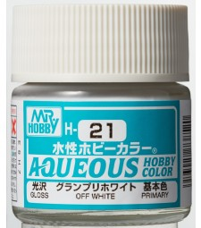 H-021 Gloss Off White (10ml) - Mr. Color