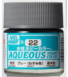 H-022 Gloss Grey (10ml) - Mr. Color