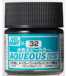 H-032 Gloss Field Grey (10ml) - Mr. Color for Tank Models, Germany, WWII