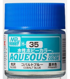H-035 Gloss Cobalt Blue (10ml) - Mr. Color