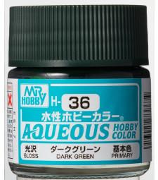 H-036 Gloss Dark Green (10ml) - Mr. Color