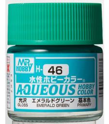H-046 Gloss Emerald Green (10ml) - Mr. Color