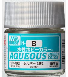 H-008 Metallic Silver (10ml) - Mr. Color