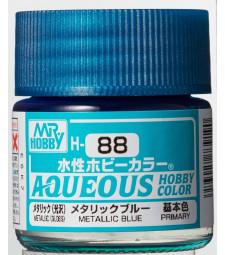 H-088 Metallic Blue (10ml) - Mr. Color for Car Models