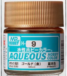 H-009 Metallic Gold (10ml) - Mr. Color