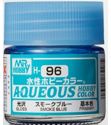 H-096 Gloss Smoke Blue (10ml) - Mr. Color for Car Models