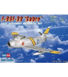 1:72 Американски изтребител Норт Американ Ф-86Ф Сейбър (North American F-86F-30 Sabre) - EASY KIT