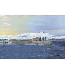 1:350 Руска ядрена подводница Проект 955, клас Борей- Юрий Долгорукий