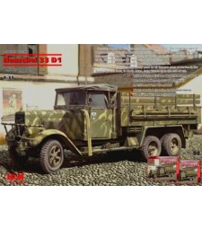 1:35 Германски армейски камион Хеншел 33 Д1 (Henschel 33 D1)