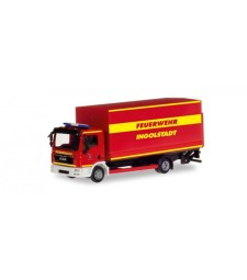 "MAN TGL CANVAS TRUCK WITH LIFTGATE ""INGOLSTADT FIRE DEPARTMENT"""