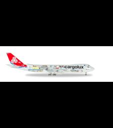 "Cargolux Boeing 747-8F - 45th Anniversary ""City of Redange-sur-Attert"""