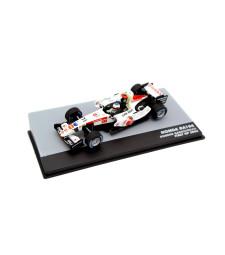 2006 Honda RA106 Honda F1 team #11 Rubens Barrichello Italy GP F1, white/red