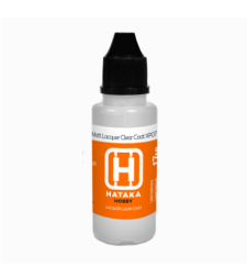 HTK-XP07 Matt Lacquer Clear Coat (17 ml) - ПОМОЩЕН ПРОДУКТ