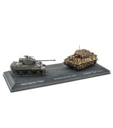 "M4A4 SHERMAN ""FIREFLY"" VS PZ.KPFW. VI ""TIGER"" I AUSF. E - THE BATTLE OF NORMANDY (FRANCE), 1944"