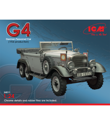 1:24 Германски автомобил Mercedes-Benz Typ G4 (производство 1935г)