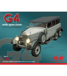 1:24 Германски автомобил Mercedes-Benz Typ G4 с мек таван
