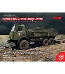 1:35 Руски 3-осен камион КаМАЗ 43105
