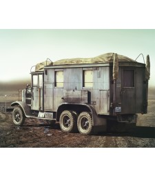 1:35 Германска радио кола Krupp L3H163 Sonderkraftfahrzeug 72