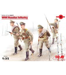 1:35 Руска пехота от Първата Световна Война - 4 фигури