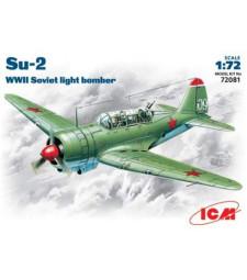 1:72 Съветски лек бомбардировач Сухой Су-2 /Su-2/