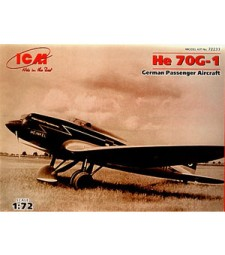 1:72 Германски пасажерски самолет Heinkel He 70G-1