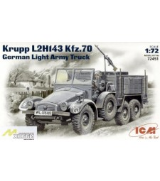 1:72 Германски лек траспортьор Krupp L2H143 Sonderkraftfahrzeug 70