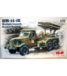 1:72 Руска система за залпов огън БМ-14-16 на база ЗиЛ-157 /BM-14-16/