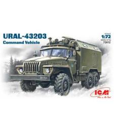 1:72 Руски команден камион УРАЛ-43203 /URAL-43203/