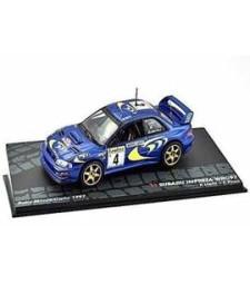 SUBARU IMPREZA WRC97 P.Liatti - F.Pons Rally Monte-Carlo 1997 - Passione Rally Collection