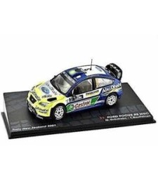 FORD FOCUS RS WRC M.Gr onholm - T.Rautiainen Rally New Zealand 2007 - Passione Rally Collection